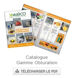 catalogue obturation Haleco