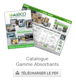 catalogue absorbants haleco