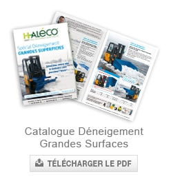 catalogue deneigement grandes surfaces haleco