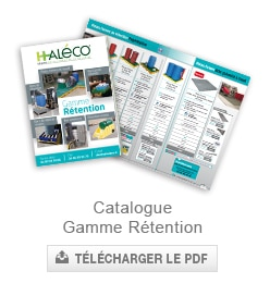 catalogue bacs de retention haleco