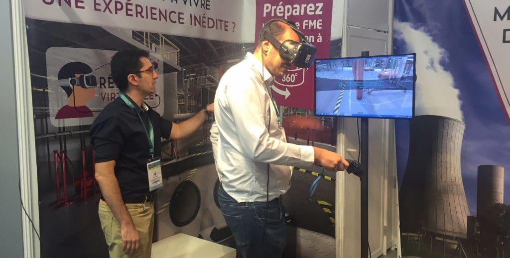 Atelier FME-FOD en réalité virtuelle