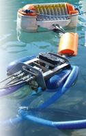 Ecrémeur ou skimmer pour la récupération d'hydrocarbures sur l'eau