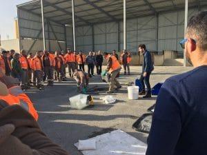 Haléco-sensibilisation-Colas-SRMV-Carpentras