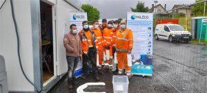 Equipe sensibilisée de COLAS RAIL Aurillac